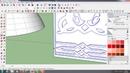 Mapping ornamen pada kubah masjid dengan plugin Flowify