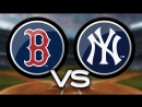 ALDS / 09.10.18 / BOS Red Sox @ NY Yankees (Game 4)