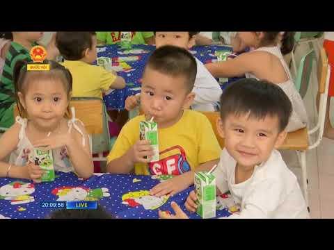 Sữa học đường – từ chủ trương đến thực tế