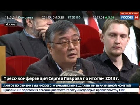 Слушай, партнер, вы санкции против РФ зачем ввели? Лавров поставил на место японского журналиста