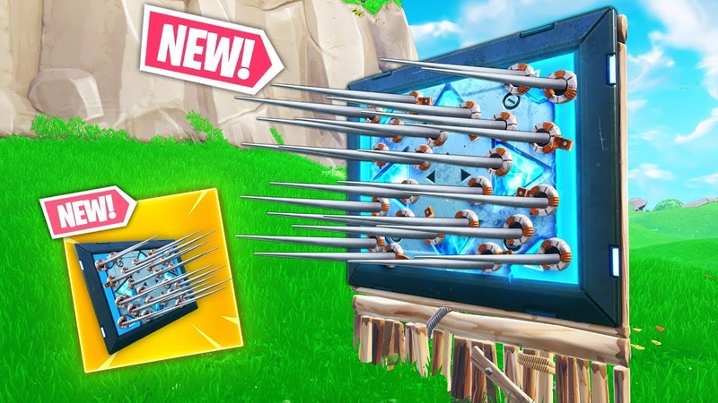 *NEW TRAP* SPIKE BOUNCE..?!!   Fortnite Funny and Best Moments Ep.241 (Fortnite Battle Royale)
