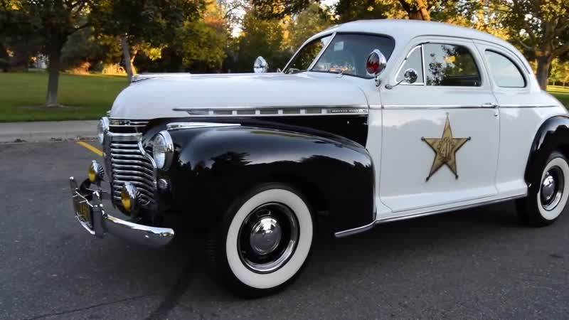 Автомобиль Chevrolet Master Deluxe Coupe Police Car, 1941 года