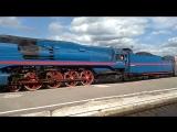 Прибытие ретро-поезда в Иваново