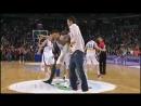 Баскетболисты рано отпраздновали победу в игре