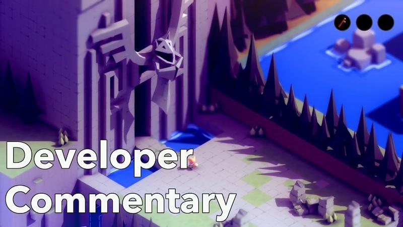 TUNIC - Developer Commentary Gameplay Demo