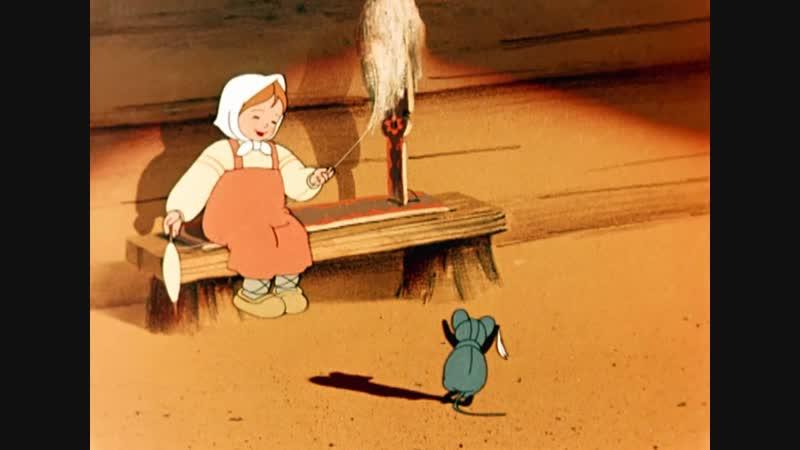 1949 г Чудесный колокольчик HD 720p качество BDRip мультфильм советский
