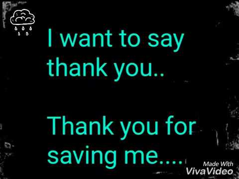 Thank you - jesus army letra
