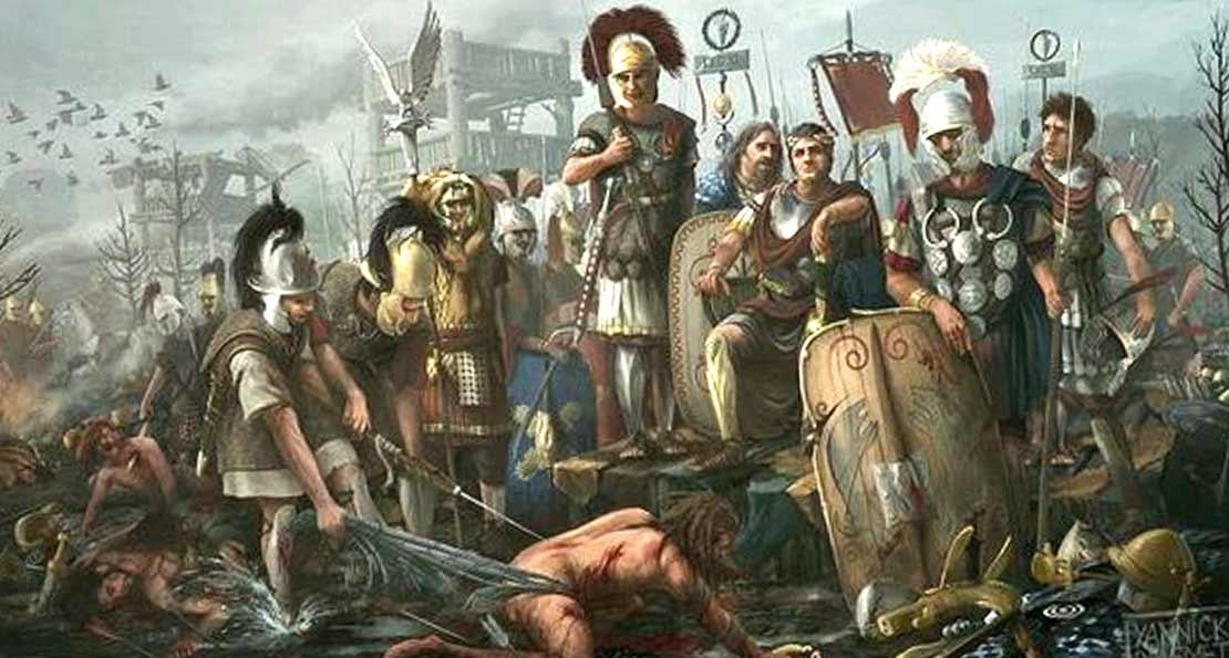 Римляне в Германии