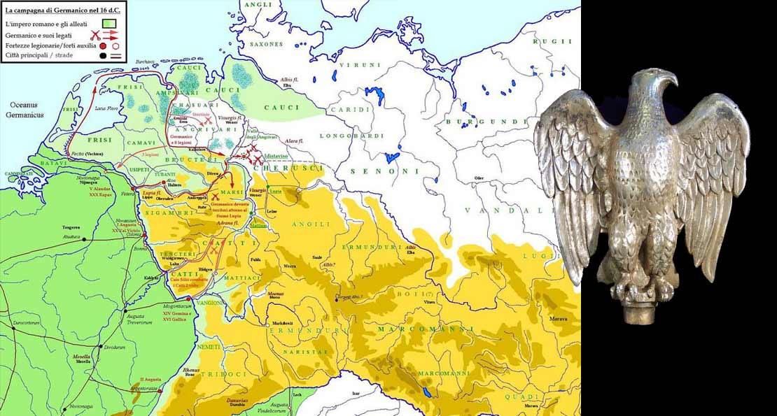Походы Германика