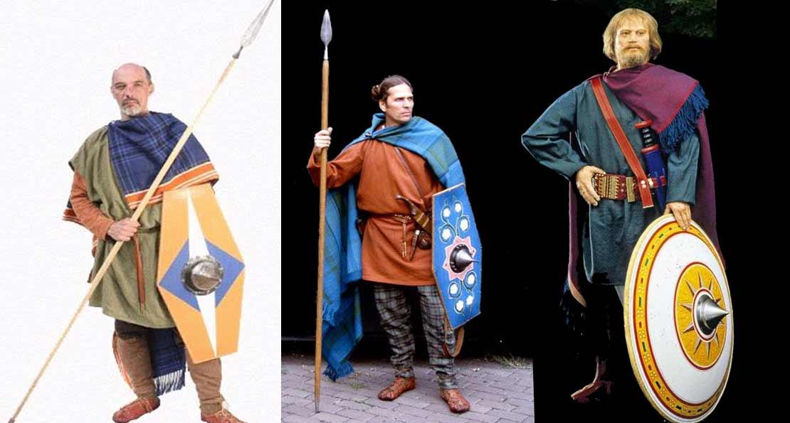 Воины германских племен