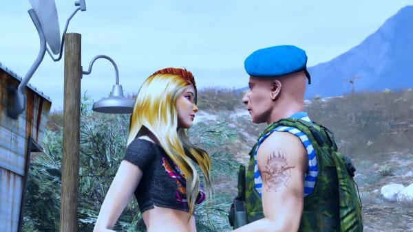 Grand Theft Auto 5 - Типа клип музыкальное видео