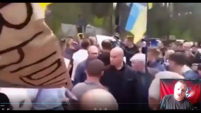 Адекватники. Николай Дульский. Порошенко избивают в толпе.