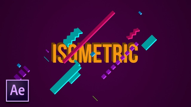 Create Isometric 3D Motion Graphics | After Effects Tutorial