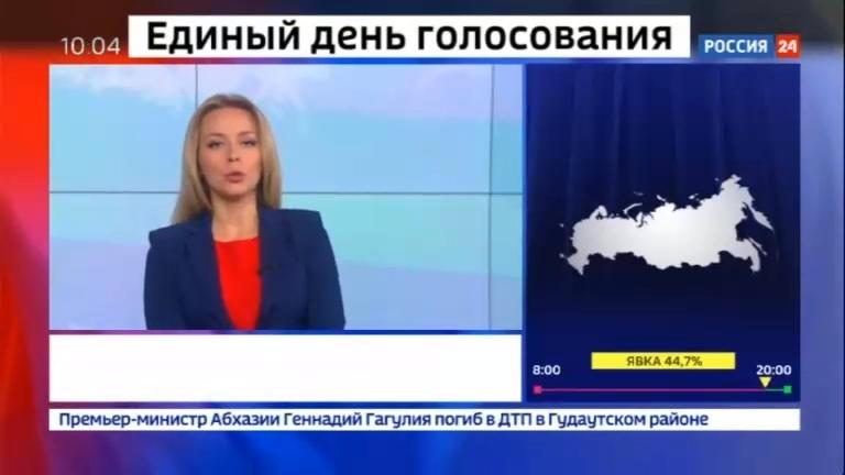 Новости на Россия 24 • Более трех с половиной тысяч избирательных участков открылись в Москве