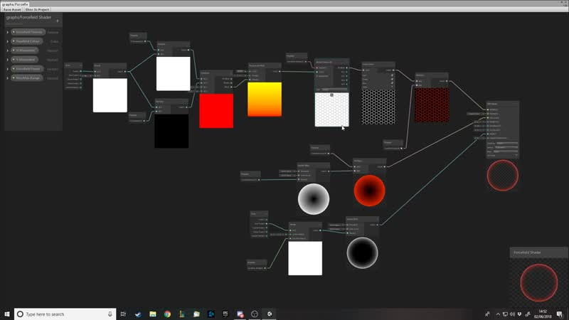 Unity Shader Graph - How to make a Force-field Shader(1)