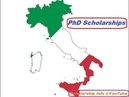 PhD Scholarships in Italy || Study in Italy || International Students
