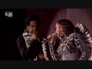 Beyoncé & Jay Z - APESHIT (Live at Global Citizen Festival 2018)