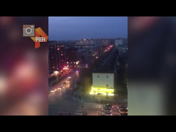 Видео с места проведения спецоперации силовиков в Тюмени