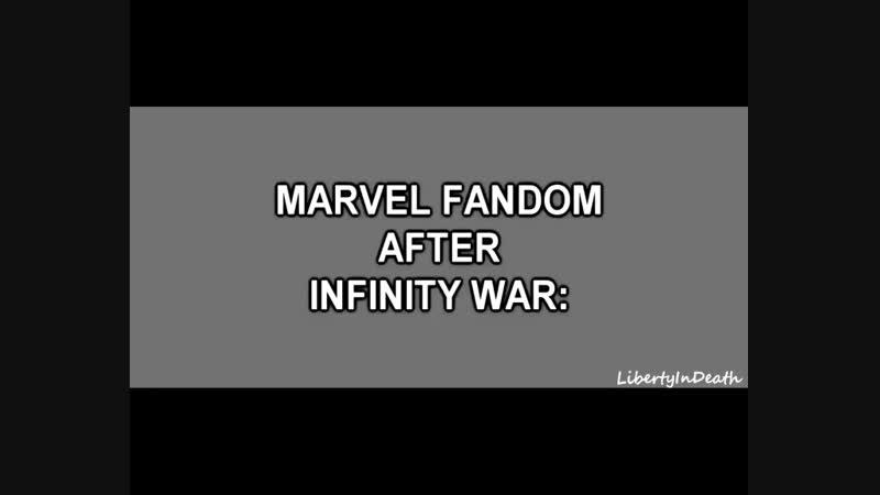 Marvel fandom after IW