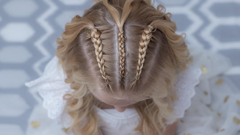 TRENZAS HOLANDESAS Y ONDAS PASO A PASO/ dutch braids and cornrows half up with waves