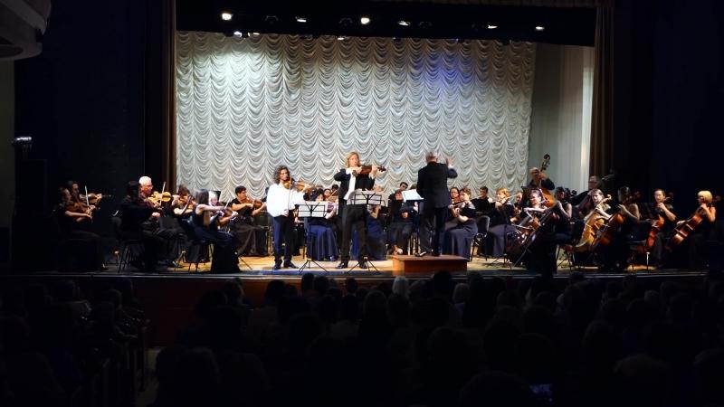 Макс Брух. Концерт для альта и скрипки с оркестром. Федор Белугин и Матвей Блюмин.