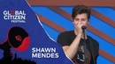 Shawn Mendes Performs There's Nothing Holdin' Me Back Global Citizen Festival NYC 2018