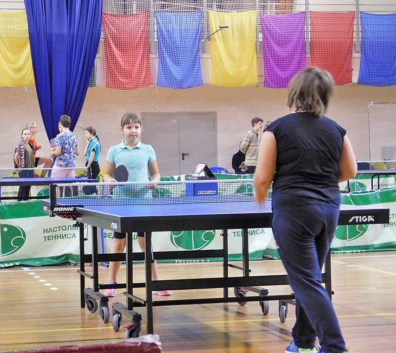 Поздравляем команду района Черёмушки по настольному теннису