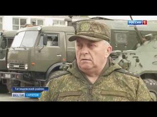 Учения ракетчиков прошли в Татищевском районе