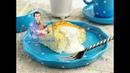 Вкусная творожная запеканка с рисом в духовке. И вкусно и полезно