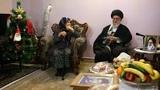Visit to Christian Martyr family on Christmas 2016 by Ayt Khamenei