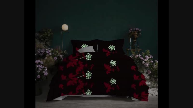 Светящееся в темноте постельное белье Alanna4