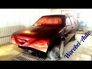 ВАЗ 2114 Полный покрас автомобиля ( Большая Черниговка)
