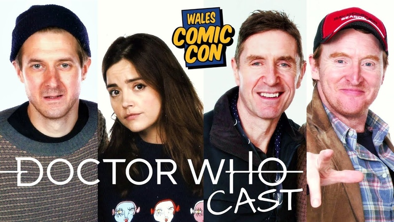 Doctor Who Cast at WALES COMIC CON December 2018 – Jenna Coleman, Arthur Darvill, Paul McGann etc.