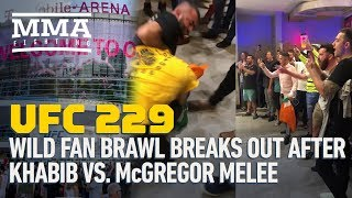 UFC 229: Wild Fan Brawl Breaks Out After Khabib vs. McGregor Melee - MMA Fighting