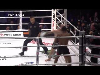 GLORY 58: Омари Бойд — Рич Абрахам | Полный бой HD | Richard Abraham vs. Omari Boyd