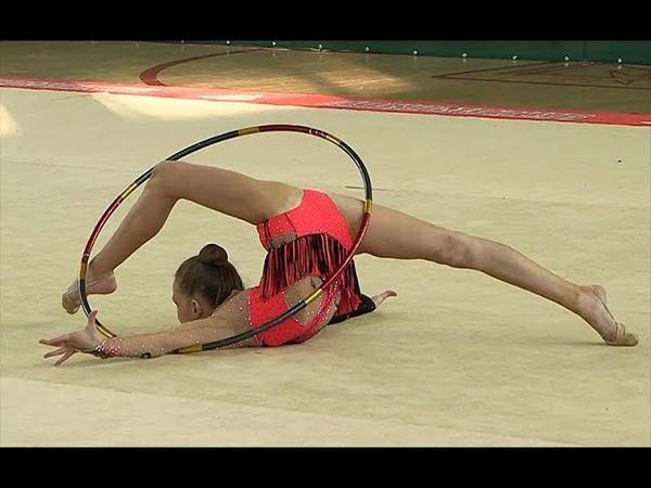 ЦАЛ КСЕНИЯ 2008 ОБРУЧ Художественная гимнастика, Rhythmic gymnastics