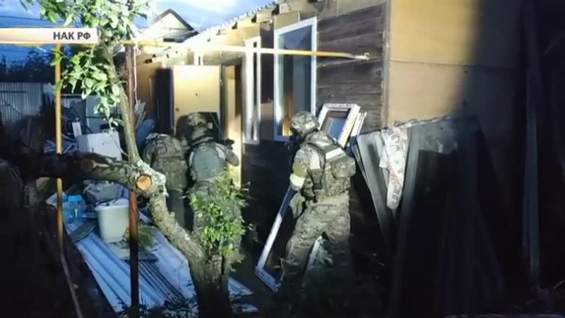 Спецназ за работой опубликовано видео с места ликвидации террористов под Владимиром