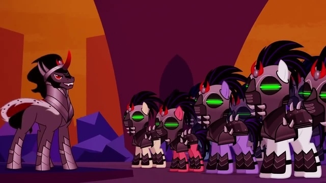 The War Between Celestia And King Sombra - My Little Pony: Friendship Is Magic - Season 5 mlp star wars march of the clones