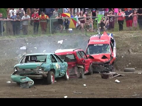 2015 Gander Demolition Derby - Small Car Heat