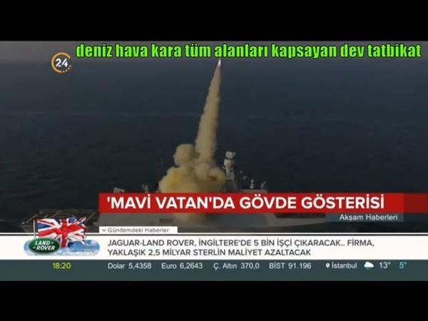 TSKdan benzeri görülmemiş Mavi Vatan tatbikatı Harika _ Videolar Live DJ_PATRON_HARİKA Live