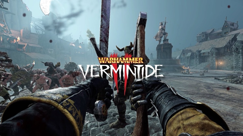 Legend True Solo Witch Hunter Captain Axe and Falcion Boss Patrol Killed |Vermintide 2