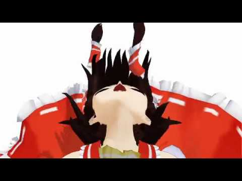 【東方MMD】BadApple!!【顔芸】 Niconico Video