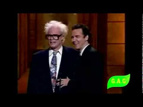 Harry Caray and Norm MacDonald