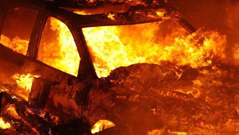 В Хабезском районе сгорело два автомобиля