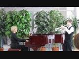 Концерт в библиотеке 24.02.2019. Виктор Вайндрах (труба). Сен-санс. Лебедь.