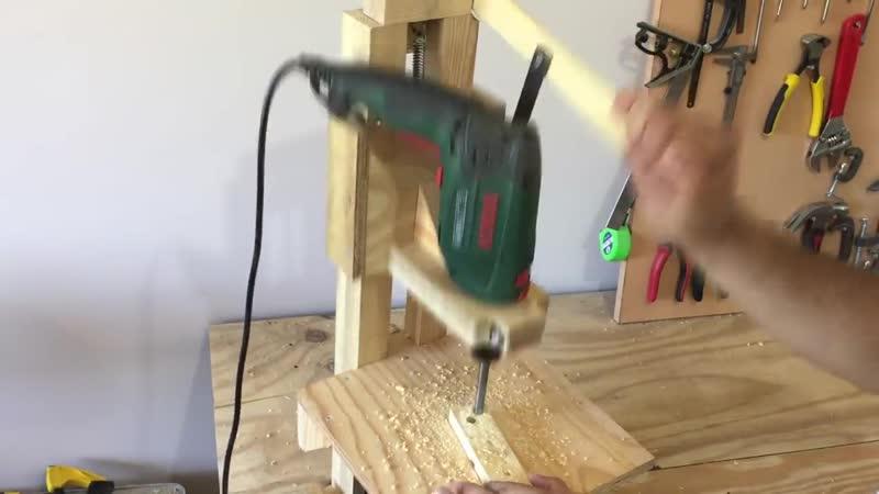 4 in 1 Drill Press Build Pt1 _ The Drill Press _ 4 in 1 Sütun Matkap 1. Bölüm