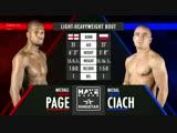 Michael Page vs Michal Ciach 15.06.2018 Hayemaker Ringstar Fight Night