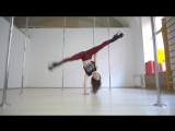 Юлия Челакова. Pole Exotic. Kats dance studio