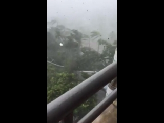 Typhoon Mangkhut • Тайфун Мангхут • 2018.09.16 • 03