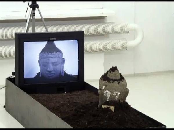 Audioguide TV Buddha, Nam June Paik